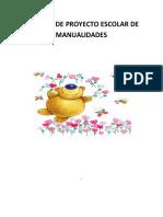 Informe de Proyecto Escolar de Manualida