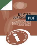 Cadre juridique des associations