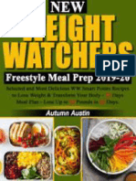 New Weight Watchers Freestyle Meal Prep 2019-20_ Selected and Most Delicious WW Smart Points Recipes to Lose Weight & Transform Your Body - 30 Days Meal Plan – Lose Up to 30 Pounds in 30 Days