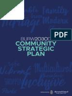 Burwood2030 Community Strategic Plan (FINAL) File