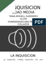 La Inquisicion Presentacion Humanidades