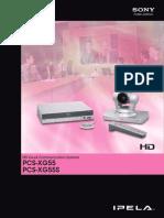 Ipela PCS-XG55, PCS-XG55S
