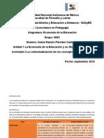 Contextualización de los conceptos de educación
