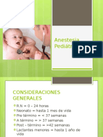 ANESTESIO pediatría