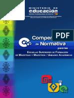 compendio normativo normal Bolivia