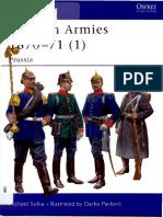 Osprey, Men-At-Arms #416 German Armies 1870-71 (1) Prussia (2004) OCR 8.12