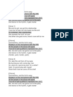Doin Time Lyrics