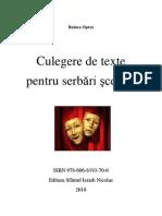 Culegere de Texte Pentru Serbari Scolare