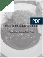 Ruta de los mil sabores del mole.pdf