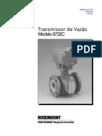 manual medidor vazão 8732