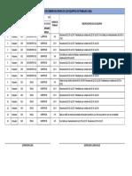 Cuadro de Observaciones de Trabajo LOGA 21-09-2019 Superficie