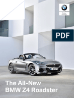 Ficha técnica The All-New BMW Z4 Roadster M40i