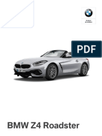 Ficha técnica The All-New BMW Z4 sDrive20i Executive