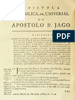 Novo Testamento Almeida 1693 - Epístola Universal de Tiago