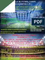 Invitacion Escuela de Futbol Guasimitos