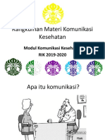 Kuliah Overview Komkes 2019