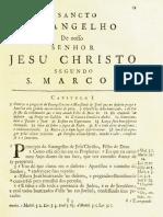 Novo Testamento Almeida 1693 - Evangelho de Marcos