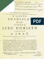 Novo Testamento Almeida 1693 - Evangelho de João