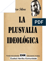 La Plusvalía Ideológica
