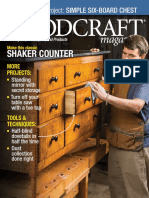Woodcraft Magazine USA - Issue #081 - Feb, Mar 2018 - Make This Classic Shaker Counter