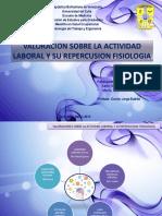 Valoracion Sobre Actividad Laboral Repercusion Fisiologica