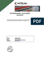 Capral Mill Catalogue
