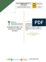 Admbs Plan 004 Programa de Ahorro y Uso Eficiente de La Energia Electrica