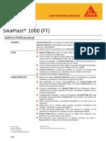 SikaPlast®  1000 (FT) rev.4 17-03-16