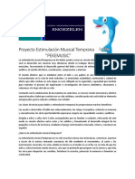Proyecto Estimulación Musical Temprana