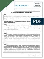 Semana_5 - TALLER 5 El Texto Académico y El Párrafo