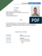 FORMATO DE HV