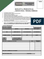 FORMATO DE LEGAJO