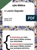 Introdu Biblica Ocanonsagrado Aula4 120809075631 Phpapp02