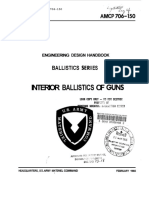 Interior Ballistics -Design Hand Book