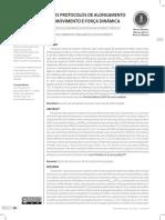 27.04 Comparação de Dois Protocolos de Alongamento Paara Amplitude de Movimento e Força Dinâmica