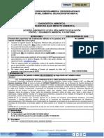 Formulario Diagnosticos Ambientales Categoria b2 o c