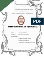Introduccion a La Sismología