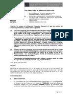 RD 06-2019-OEFA_DSAP -Empresa Pesquera Gamma SA