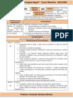 Planeación de Inglés (Secundaria)