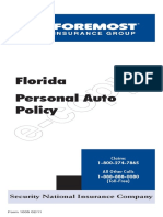 Florida Policy Contract 01-15-2009