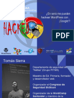 En Serio Me Pueden Hackear WordPress Con Google