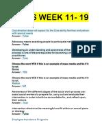 Diass Week 11