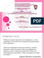 MODELOS DE ATENCIÓN DE EDUCACIÓN ESPECIAL