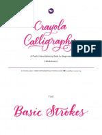 2 CrayolaCalligraphy Worksheet