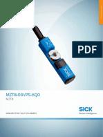 DataSheet MZT8-03VPS-KQ0 1044460 En