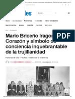 Mario Briceño Iragorry _ Corazón y Símbolo de Conciencia Inquebrantable de La Trujillanidad - Diario de Los Andes, Noticias de Los Andes, Trujillo, Táchira y Mérida