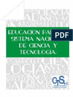 Modulo  CTS No2 - Educación para un sistema Nacional de Ciencia y Tecnología.pdf