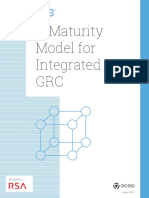 A Maturity Model for Integrated GRC