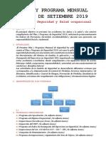 3. Plan y Programa de Seguridad