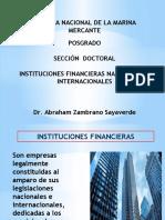 INSTITUCIONES FINANCIERAS - DOCTORADO